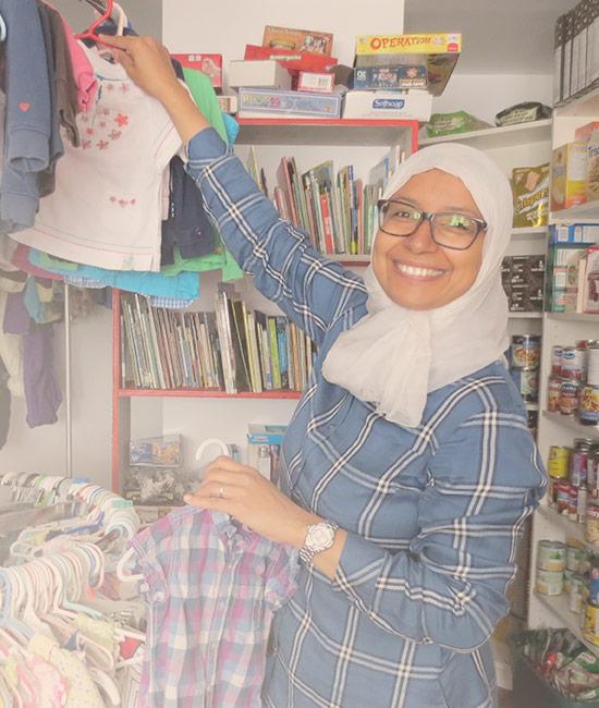 Halima Aboussaif | Entre mamans et papas